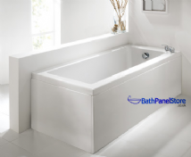 Luxury High Gloss White 1 Piece Bath Panels